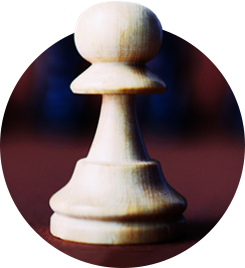 White Pawn from a chess set