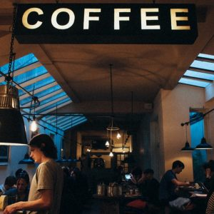 coffee-shop website banner